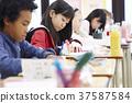 國際學校課堂現場 37587584