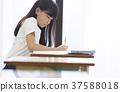 小學生教室女孩 37588018