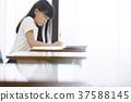 小學生教室女孩 37588145