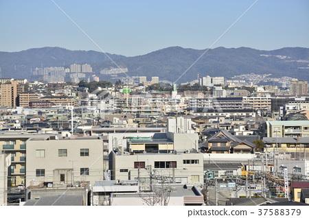 [효고현] 西宮北口 주변의 도시 풍경 37588379