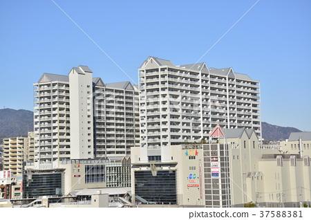 [효고현] 西宮北口 주변의 도시 풍경 37588381