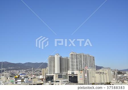 [효고현] 西宮北口 주변의 도시 풍경 37588383