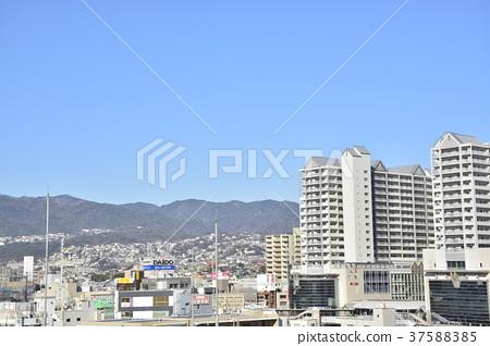 [효고현] 西宮北口 주변의 도시 풍경 37588385