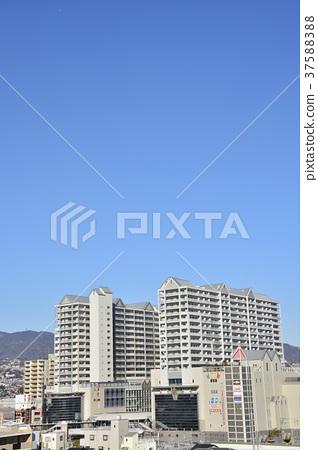 [효고현] 西宮北口 주변의 도시 풍경 37588388