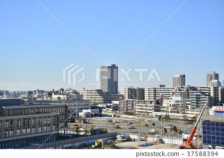 [효고현] 西宮北口 주변의 도시 풍경 37588394