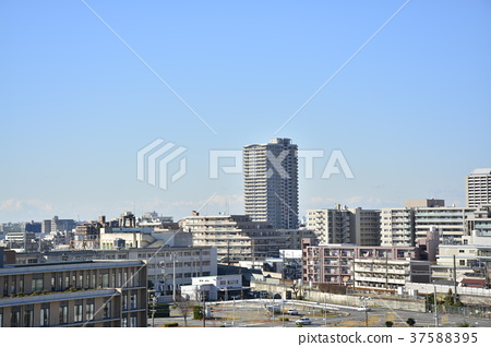 [효고현] 西宮北口 주변의 도시 풍경 37588395