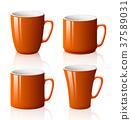 컵, 잔, 찻잔 37589031