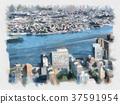 Skyscrapers of Manhattan. New York city 37591954