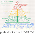 食物 食品 金字塔 37594251