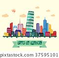 Italy city skyline 37595101
