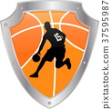 basketball icon 37595987