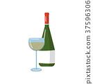 葡萄酒 紅酒 瓶子 37596306