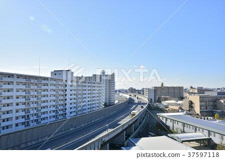 [효고현] 西宮北口 주변의 도시 풍경 37597118