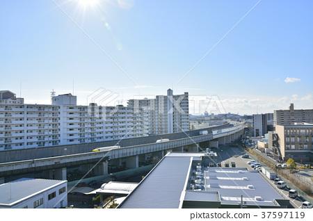 [효고현] 西宮北口 주변의 도시 풍경 37597119