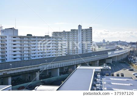 [효고현] 西宮北口 주변의 도시 풍경 37597120