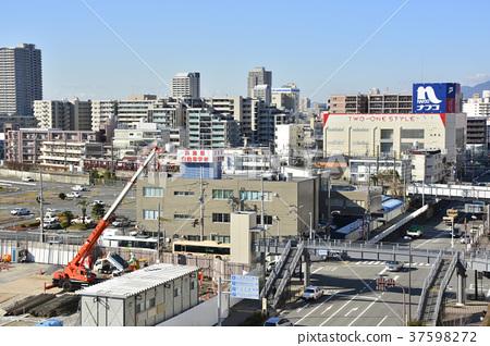[효고현] 西宮北口 주변의 도시 풍경 37598272