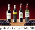 瓶子 葡萄酒 红酒 37600200