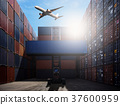 Logistic Import Export Background 37600959
