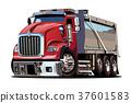 矢量 矢量图 卡车 37601583