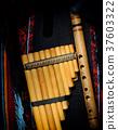 Peruvian pan flute 37603322