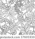rowan seamless pattern 37605930