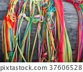 colorful ribbon for pray 37606528