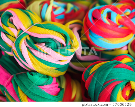 colorful ribbon for pray 37606529