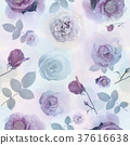 seamless   pattern with roses 37616638