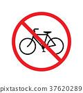 No bicycle sign 37620289