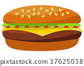burger, hamburger, cheeseburger 37625038