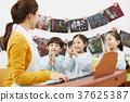 유치원,유치원생,어린이,선생님,한국인 37625387