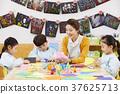 幼兒園,幼兒園,兒童,老師,韓語 37625713