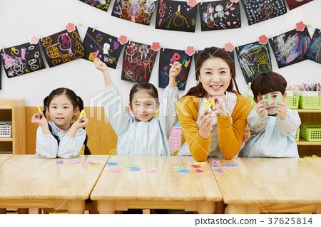 Kindergarten, Kindergarten, Child, Teacher, Korean 37625814