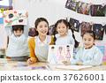 幼兒園,幼兒園,兒童,老師,韓語 37626001