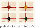 Set of wax sealed envelopes 37626627