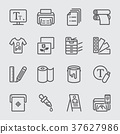 Print line icon 37627986
