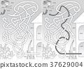 Mermaid maze 37629004