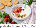 Chilled Buttermilk soup 37630157