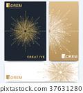 Modern vector template for brochure, leaflet 37631280