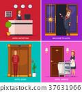 Hotel Staff 2x2 Design Concept 37631966