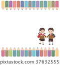 color pencil, coloured pencil, elementary student 37632555