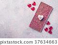 심장, 빨강, 초콜릿 37634663
