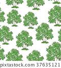 Lilac Bush Seamless 37635121