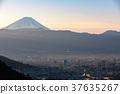 【Yamanashi Prefecture】 Kofu City and Mt. Fuji 37635267