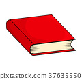 book, closed, vector 37635550