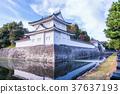 Landscape of Japan Kyoto Fall Nijo Castle 37637193