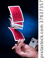 扑克牌 赌博 赌场 37637357