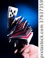 扑克牌 赌博 赌场 37637359