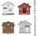 small country house vector illustration 37637989