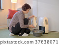 Portable dehumidifier colect water from air 37638071